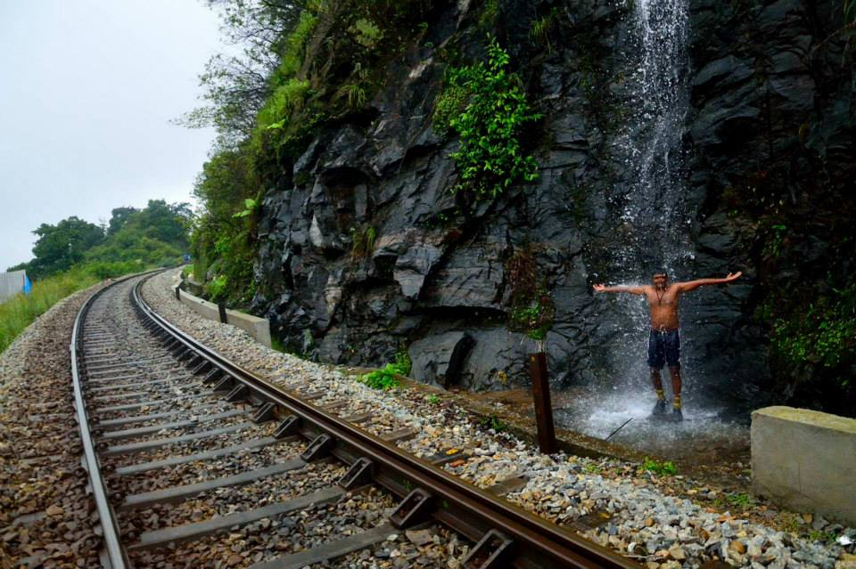 Donigale railway track and waterfalls -Durai