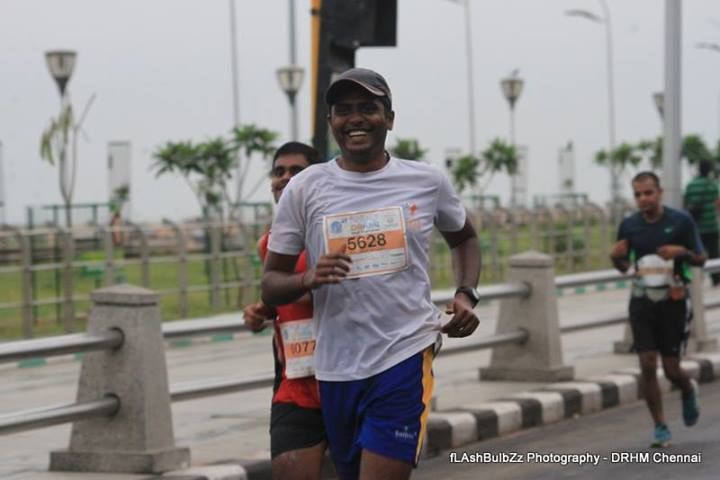 Durai in Dream Runners Half Marathon
