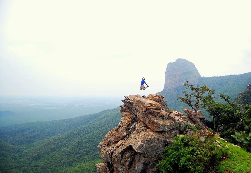Venkatagiri cliff jump