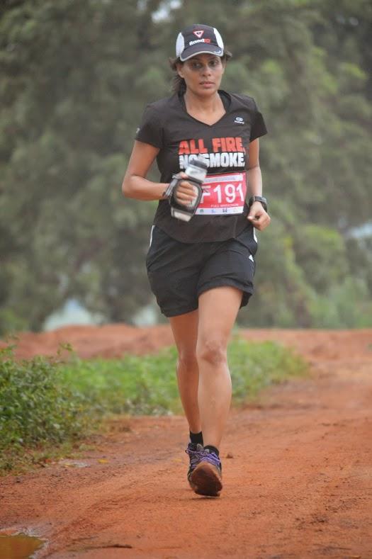 Chennai trail marathon finisher