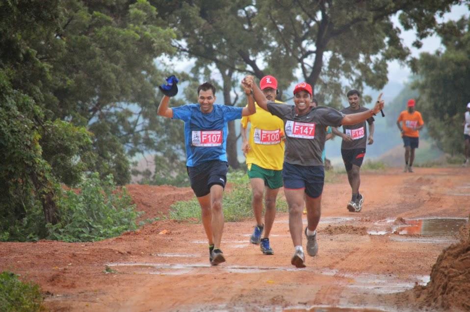 Water logging - chennai trail marathon