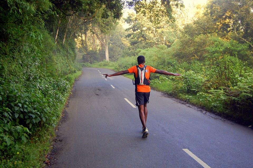 Running at munnar