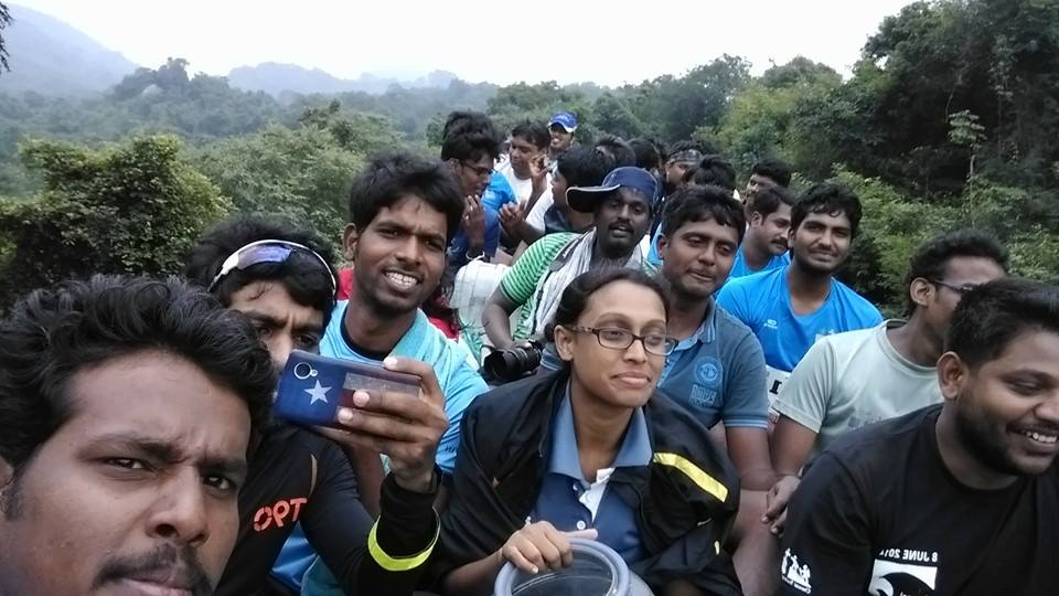 Bus top ride jawadhu hills marathon