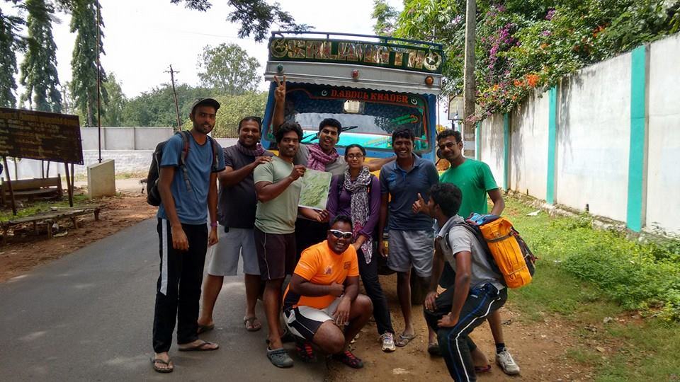 Jawadhu ultra marathon - trail marking team