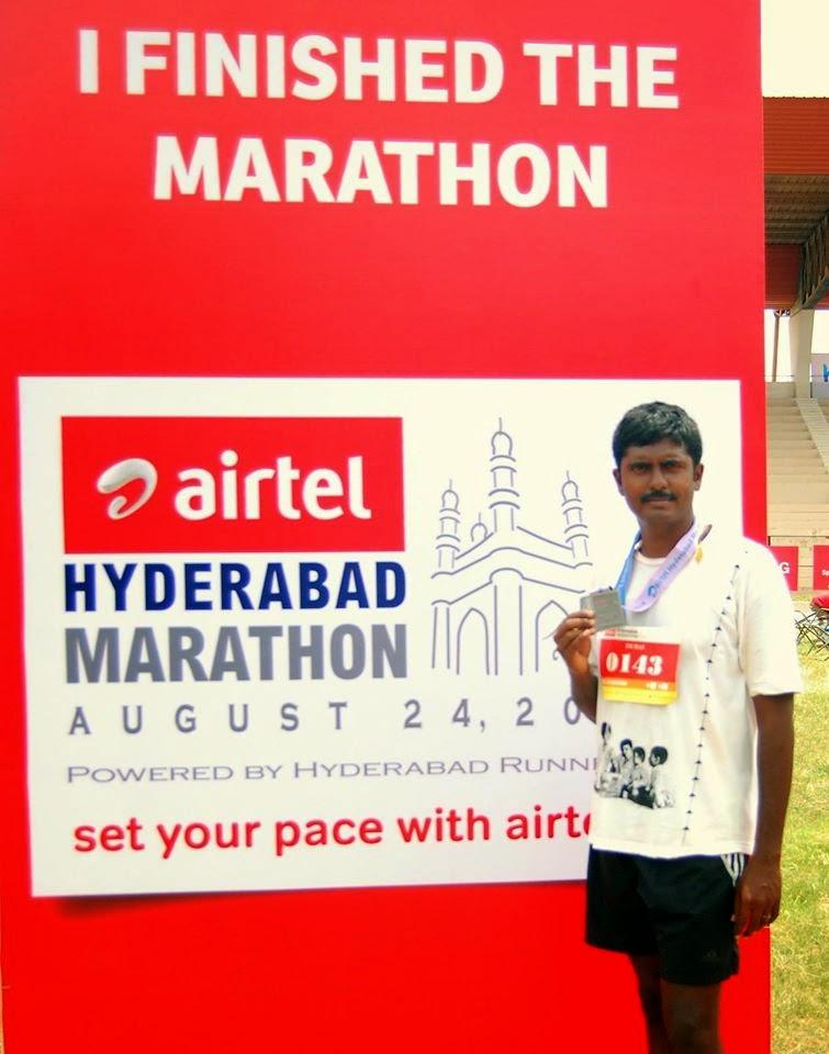 Durai_in_hyderabad_marathon