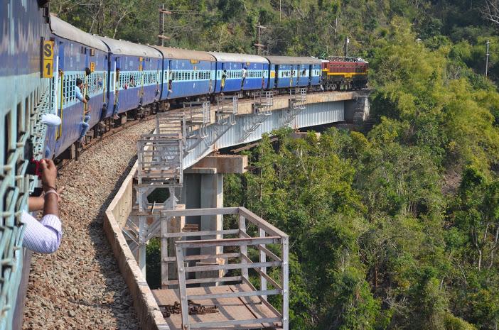 Araku valley train