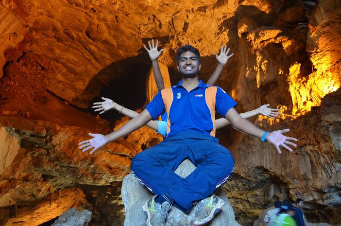 Bora caves in araku valley