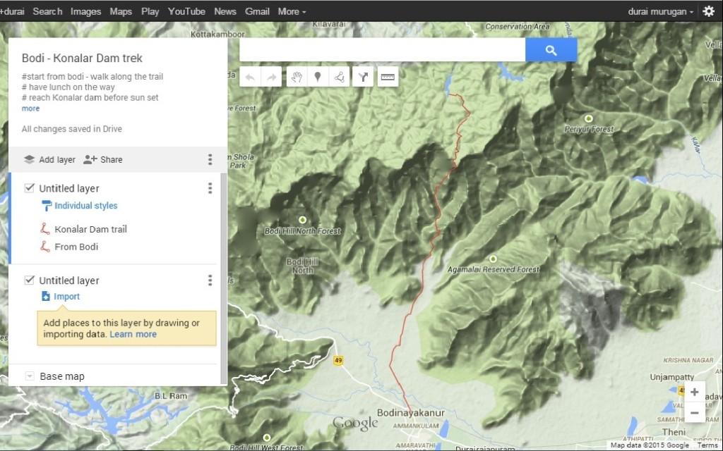 Online trail - bodi to konalar dam 1