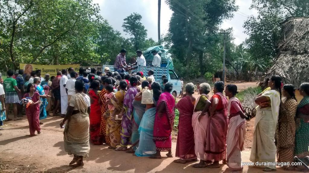 distribution in village