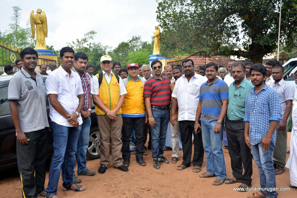 flood relief work